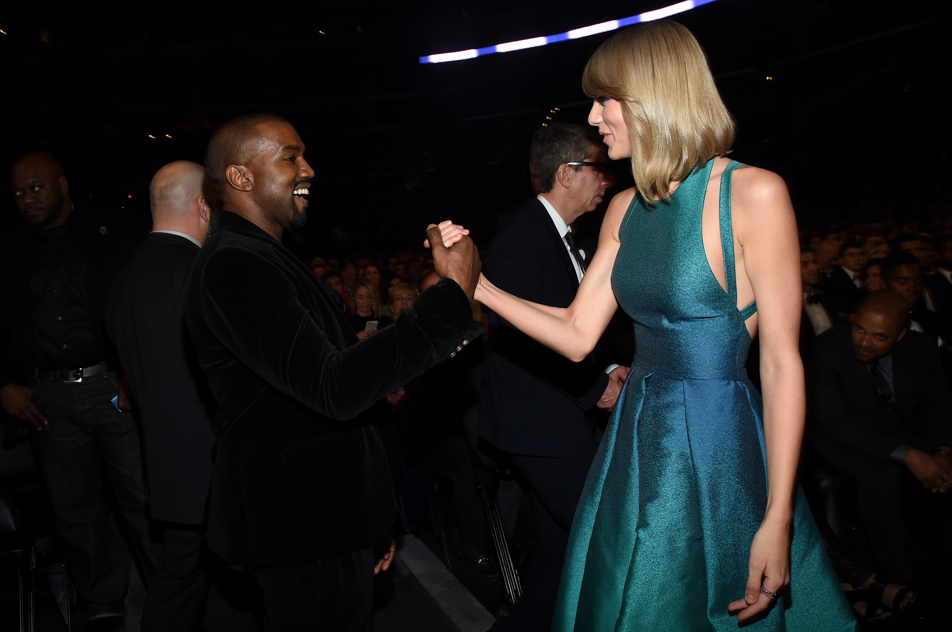 The 57th Annual GRAMMY Awards - Backstage & Audience