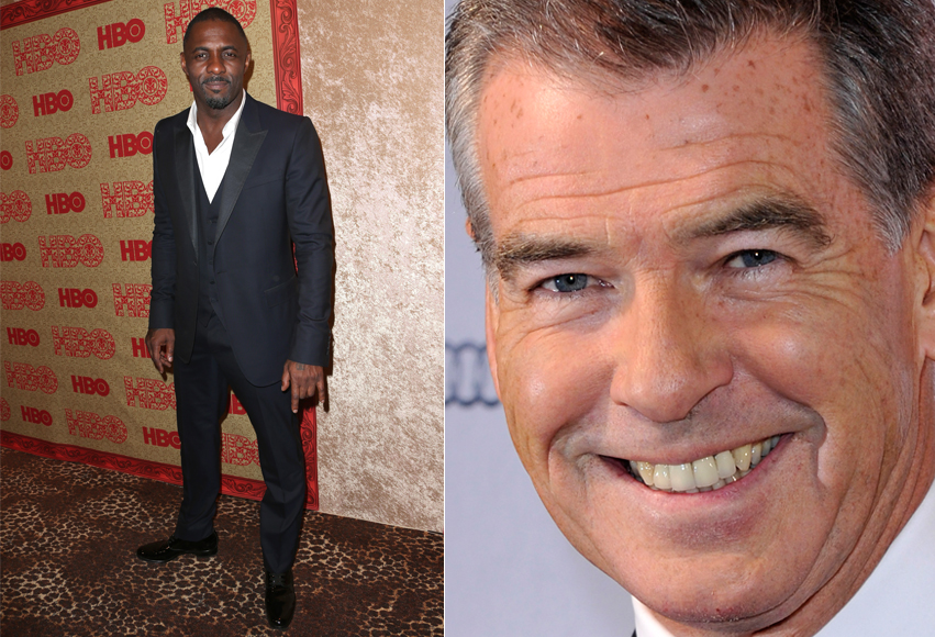 Idris Elba e Pierce Brosnan