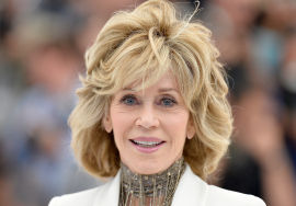 Jane Fonda no Festival de Cinema de Cannes