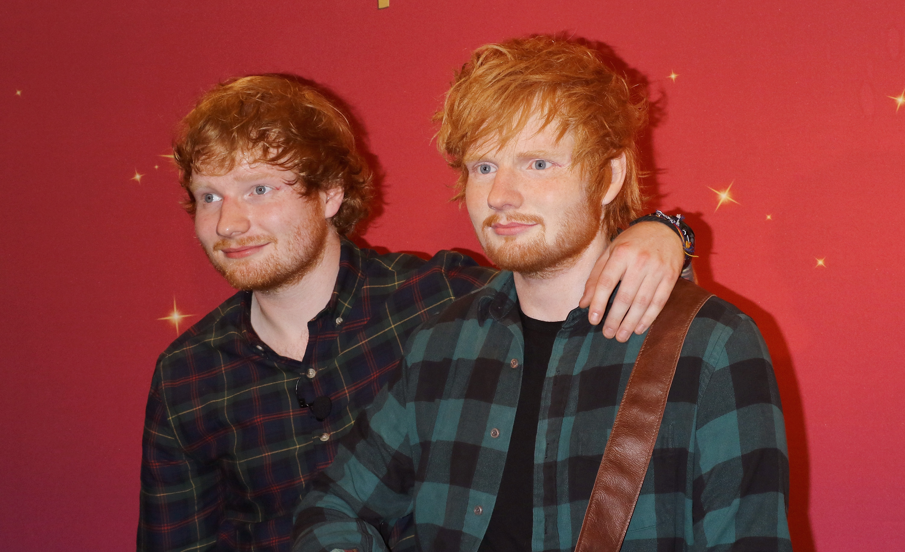 Ed Sheeran no Madame Tussauds