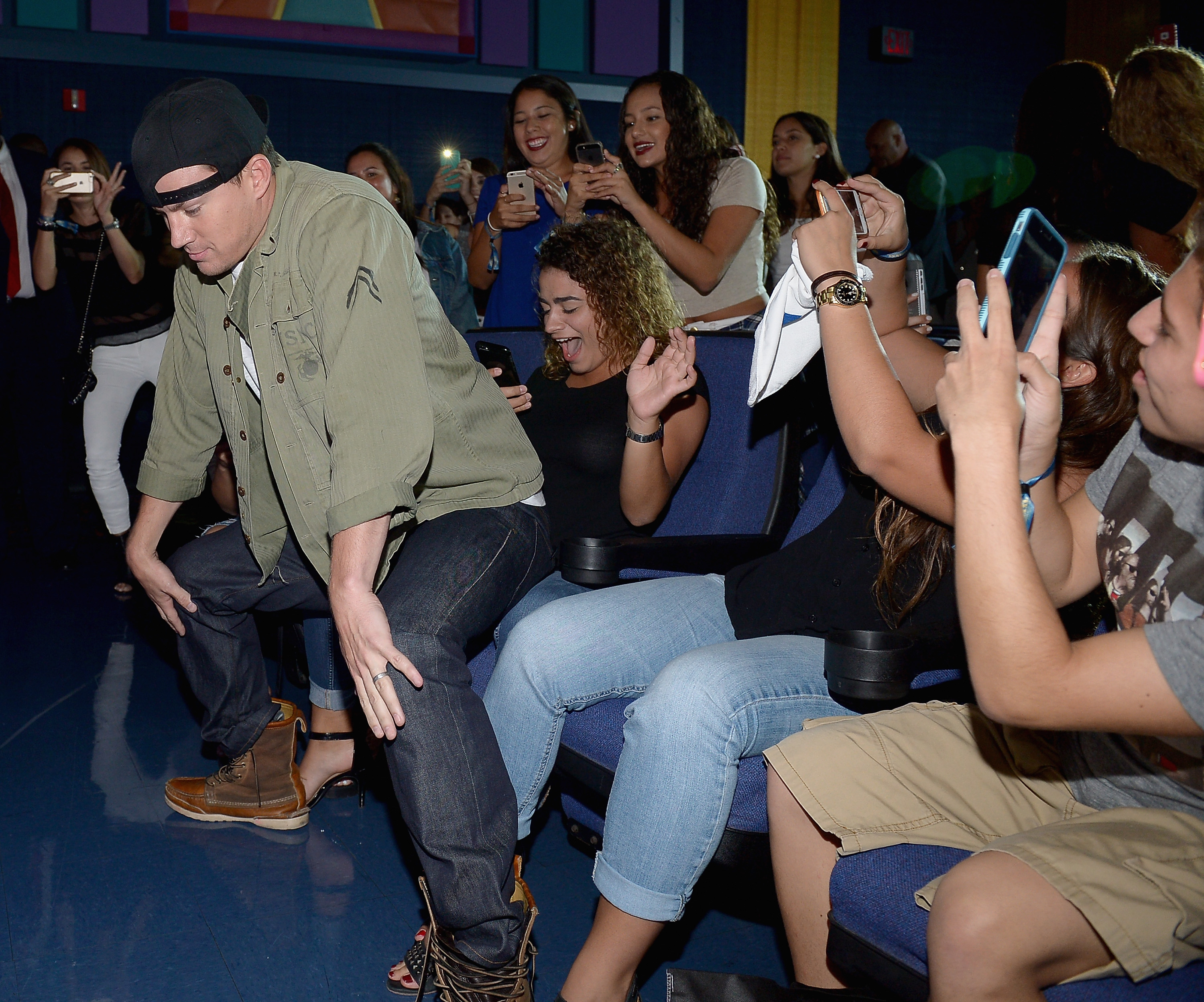 """""""Magic Mike XXL"""" Cast Surprise Audience at Screening"""