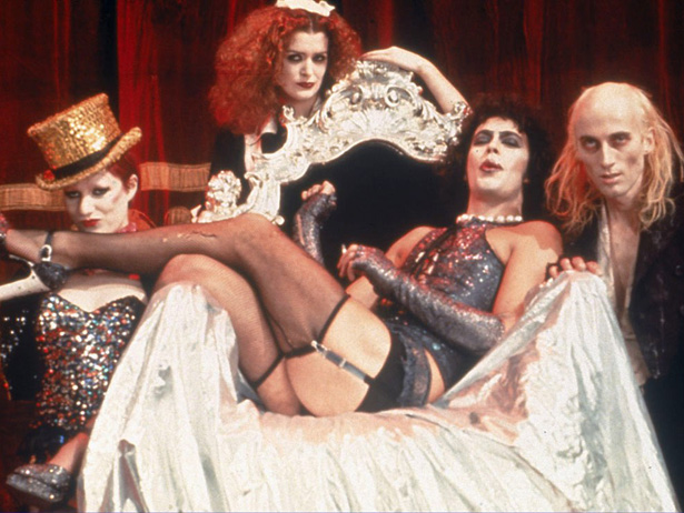 I'm just a sweet transvestite /From Transexual, Transylvania.