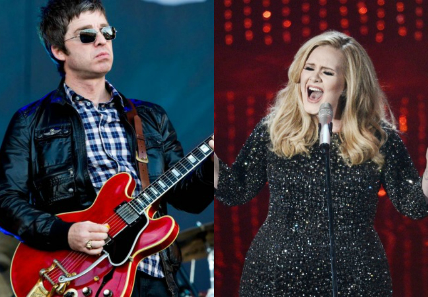 Noel Gallagher e Adele