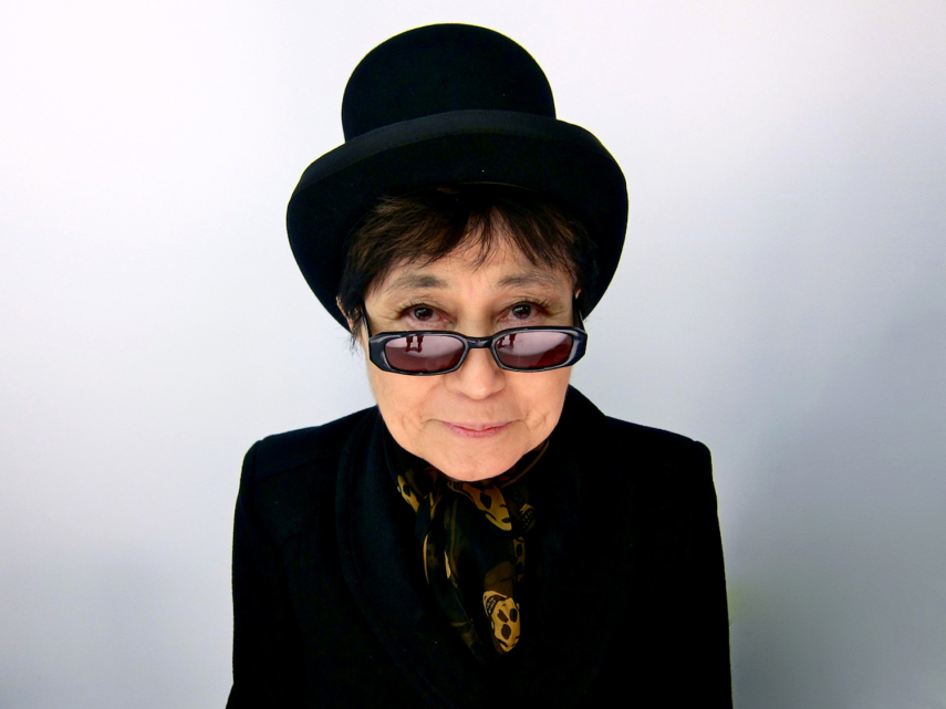 "Yoko Ono, ""Walking on Thin Ice"""