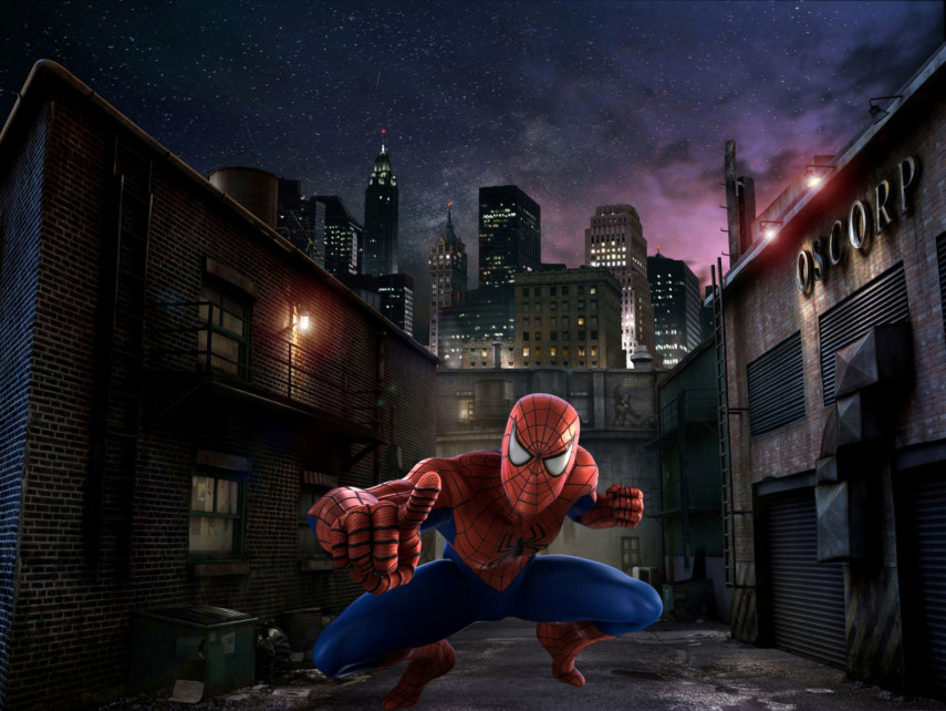 The Amazing Adventures of Spider-Man Screen Grab