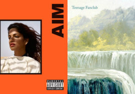 """AIM"" da MIA e ""Here"" do Teenage Fanclub"
