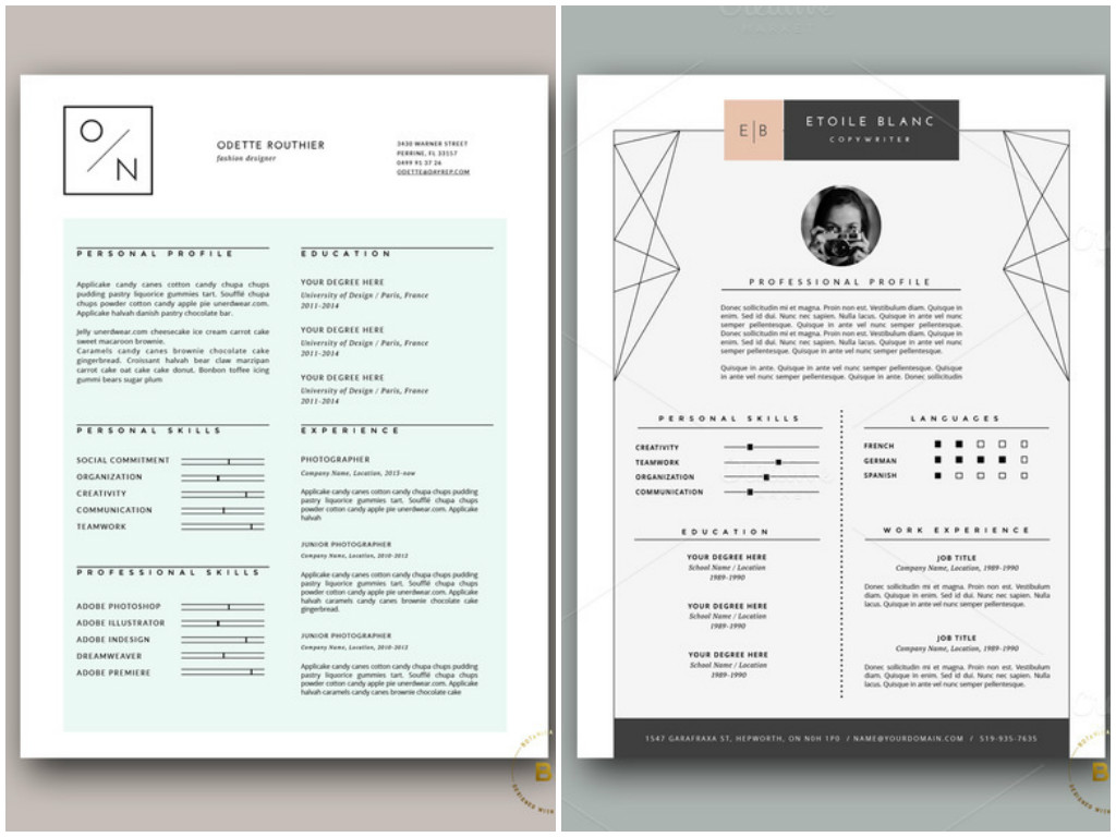 45 Layouts De Curriculos Criativos Feitos No Microsoft Word Para