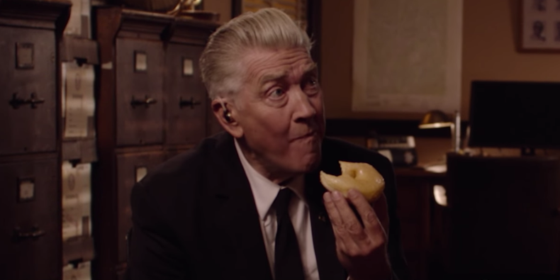 David Lynch como o agente Gordon Cole, em  Twin Peaks