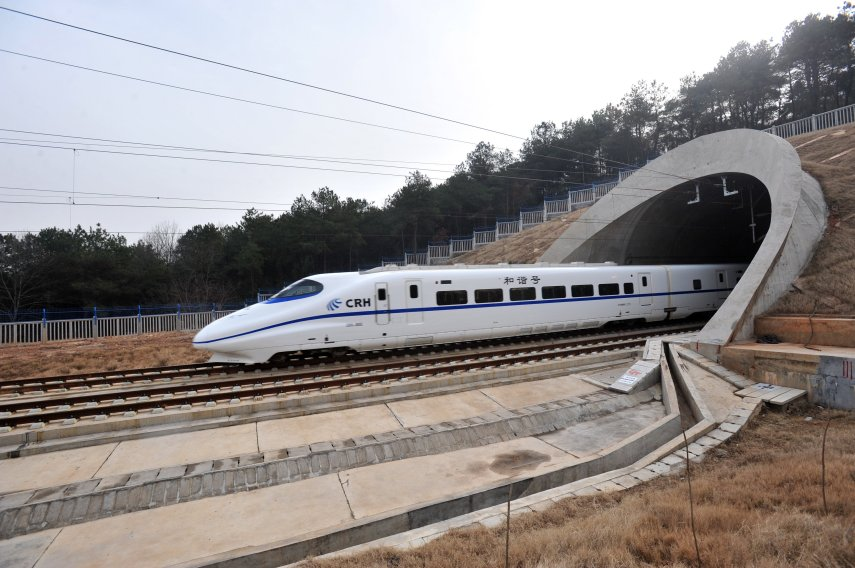 Trem de alta velocidade da CRH (China Railway High-speed)