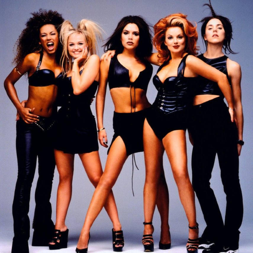 As Spice Girls