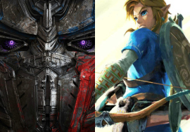 Transformers e The Legend of Zelda
