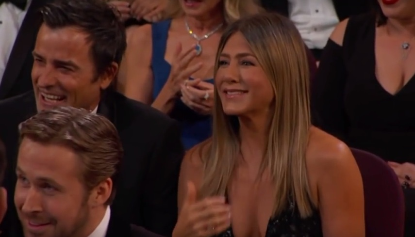 Jennifer Aniston no Oscar 2017