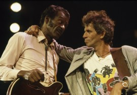 Chuck Berry era idolatrado por Keith Richards