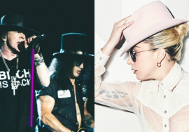 Lady Gaga e Guns N´Roses