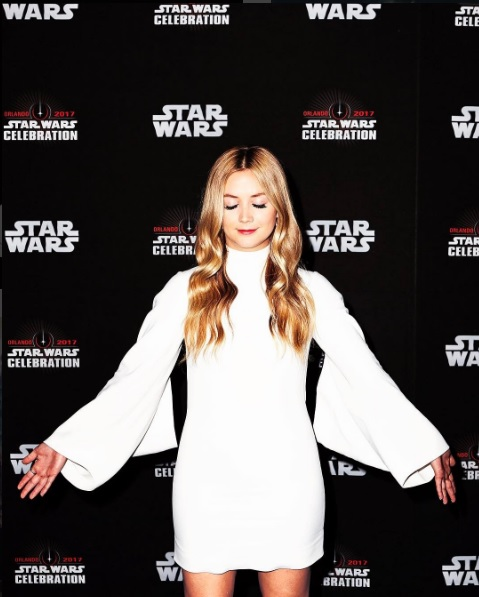 Billie Lourd, filha de Carrie Fisher