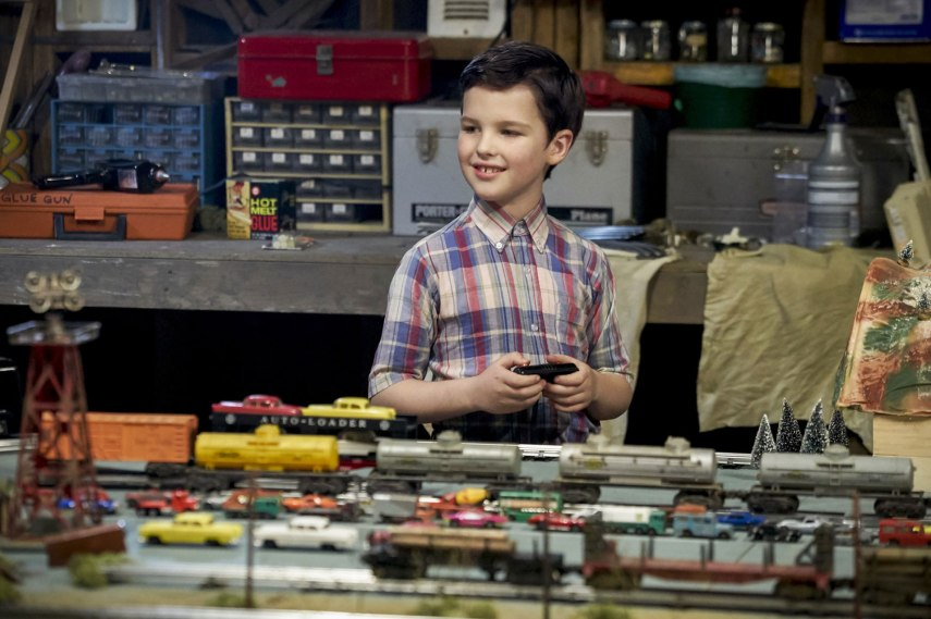 Cena de 'Young Sheldon