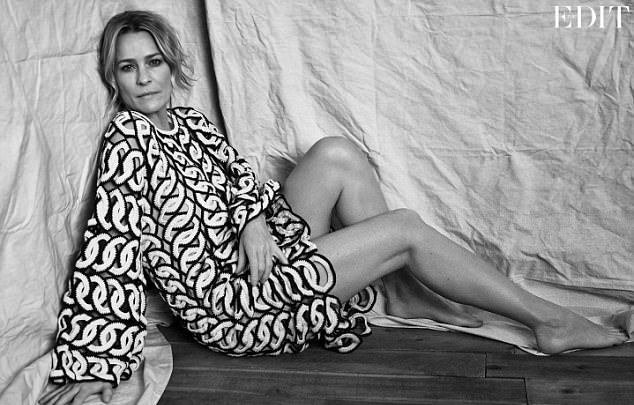 Robin Wright na The Edit