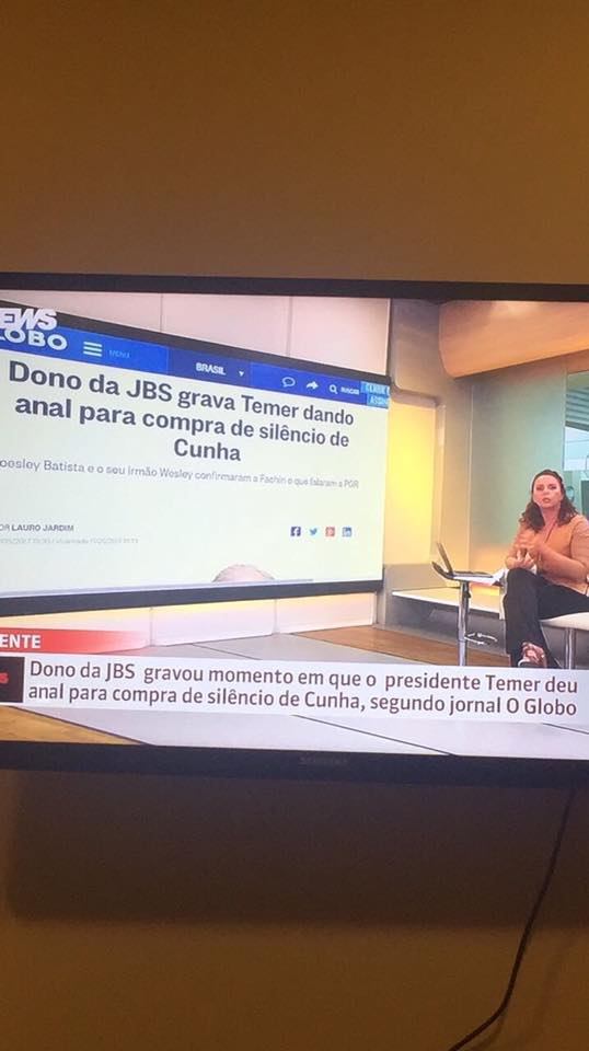 A gafe no Globo News