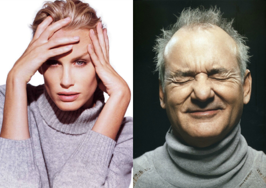 Daryl Hannah e Bill Murray