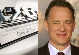 O novo carro exclusivo de Tom Hanks