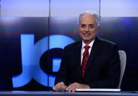 William Waack está internado