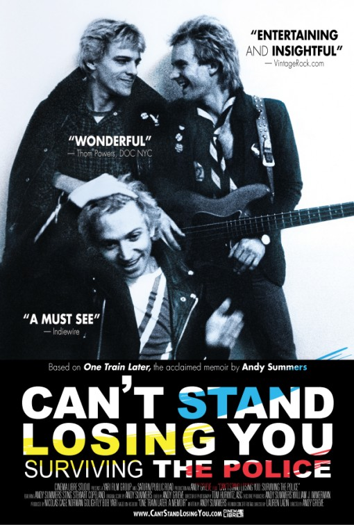 Can't Stand Losing You - Sobrevivendo ao The Police