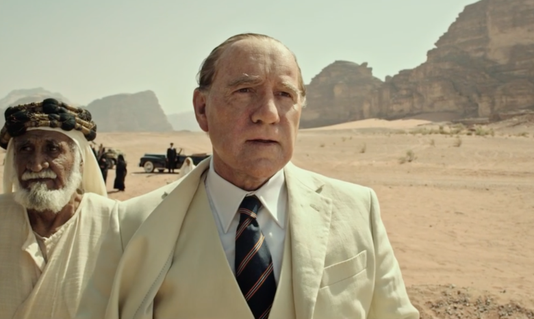 Kevin Spacey como J. Paul Getty