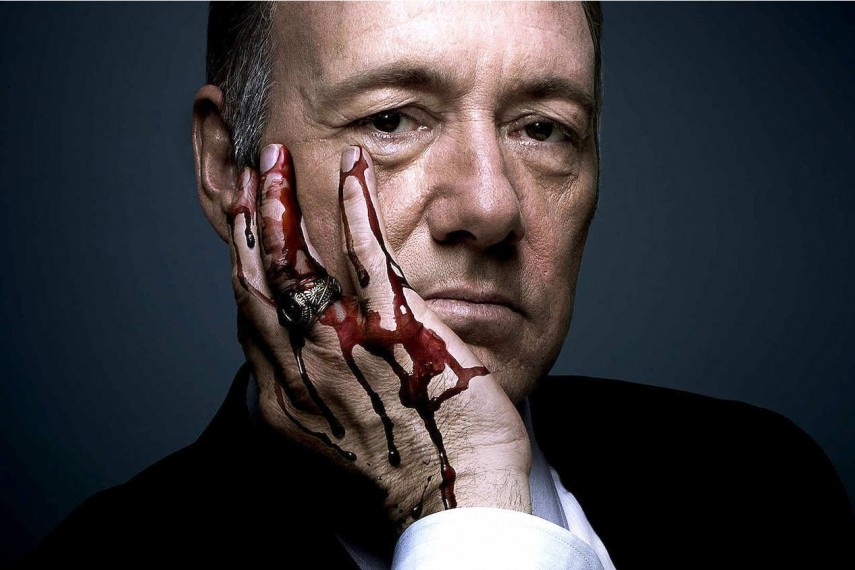 Kevin Spacey em House of Cards