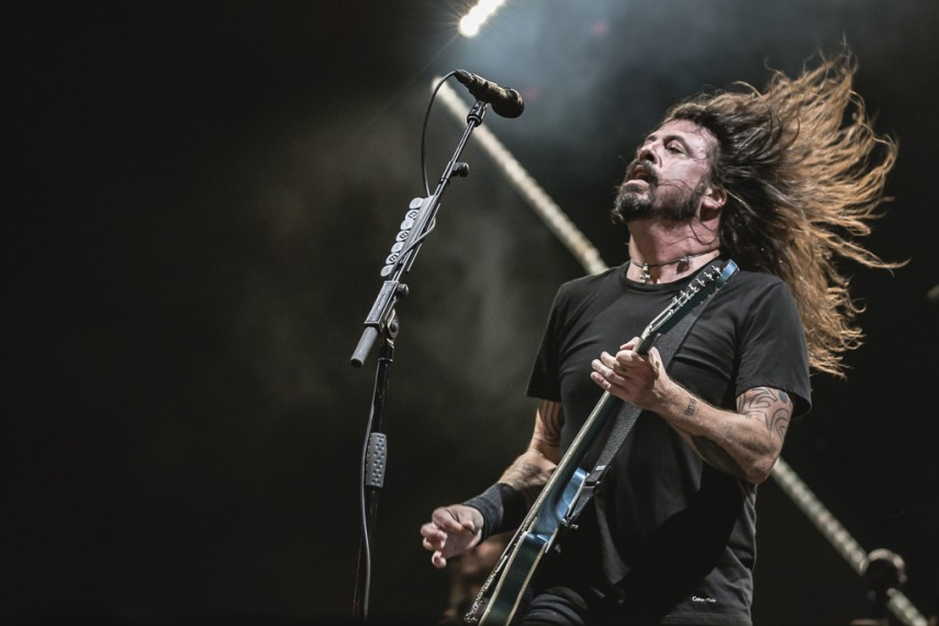 Foo Fighters e Queens of The Stone Age em SP