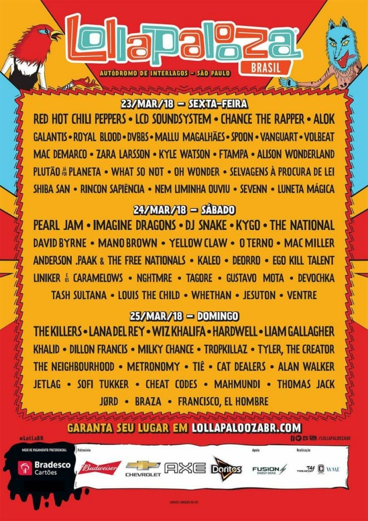 lolla-18-line-up